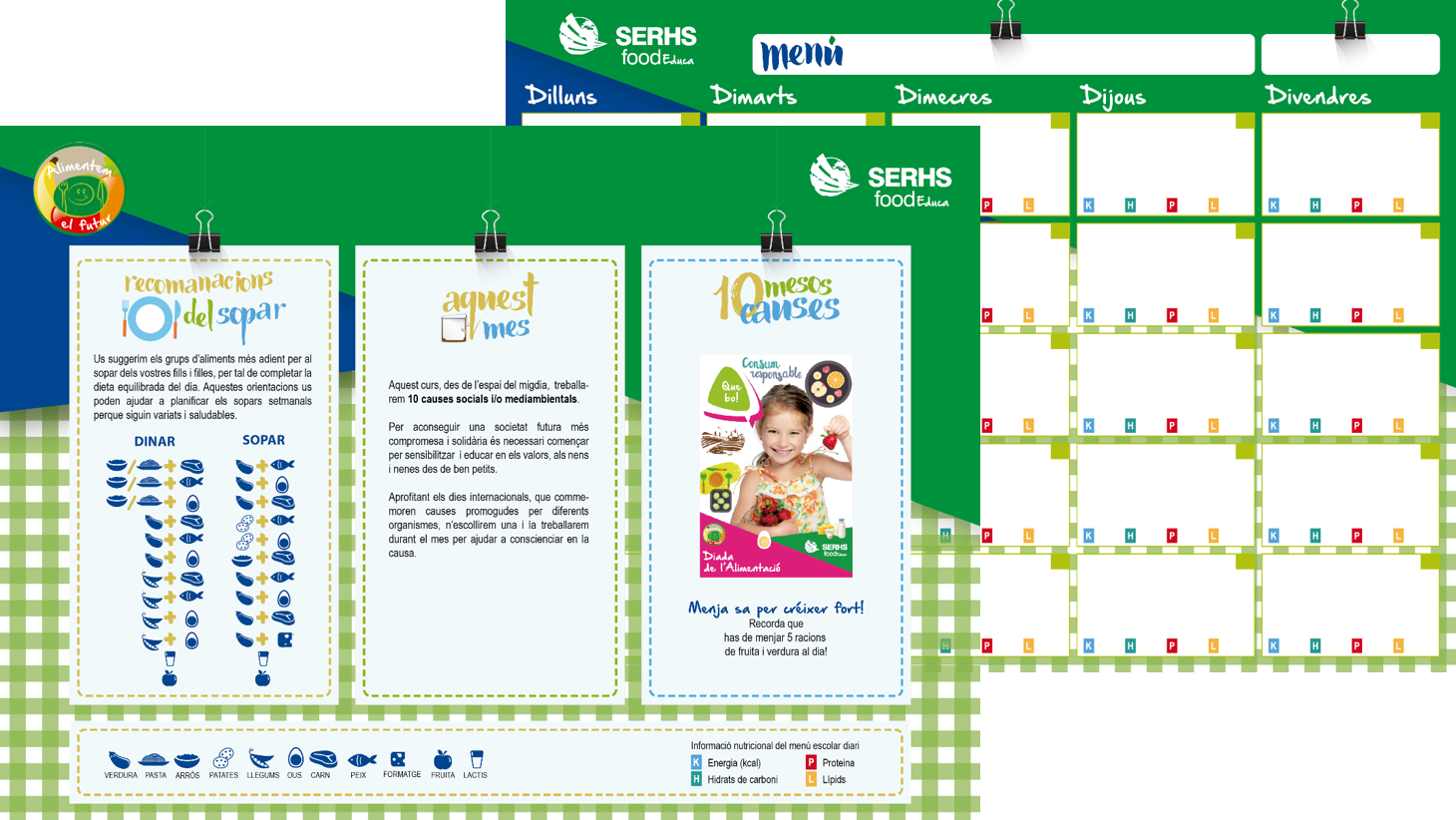 menus saludables a serhs food educa